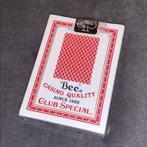 Casino playing cards